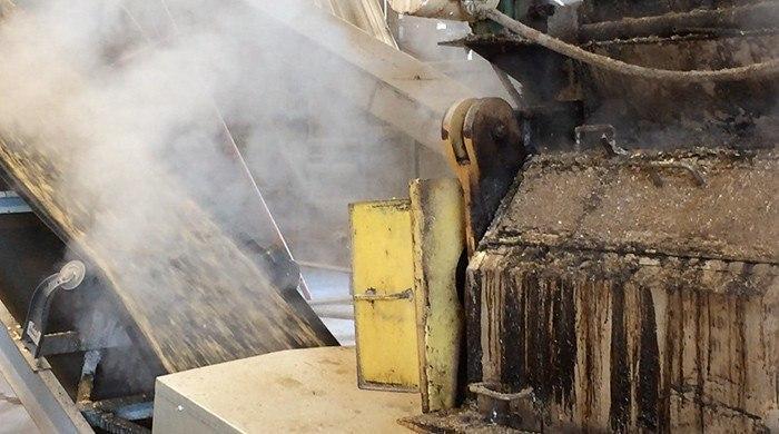 Steam Conditioning Conveyer Belt - Organic Livestock Feed - Feedex - organic livestock feed process